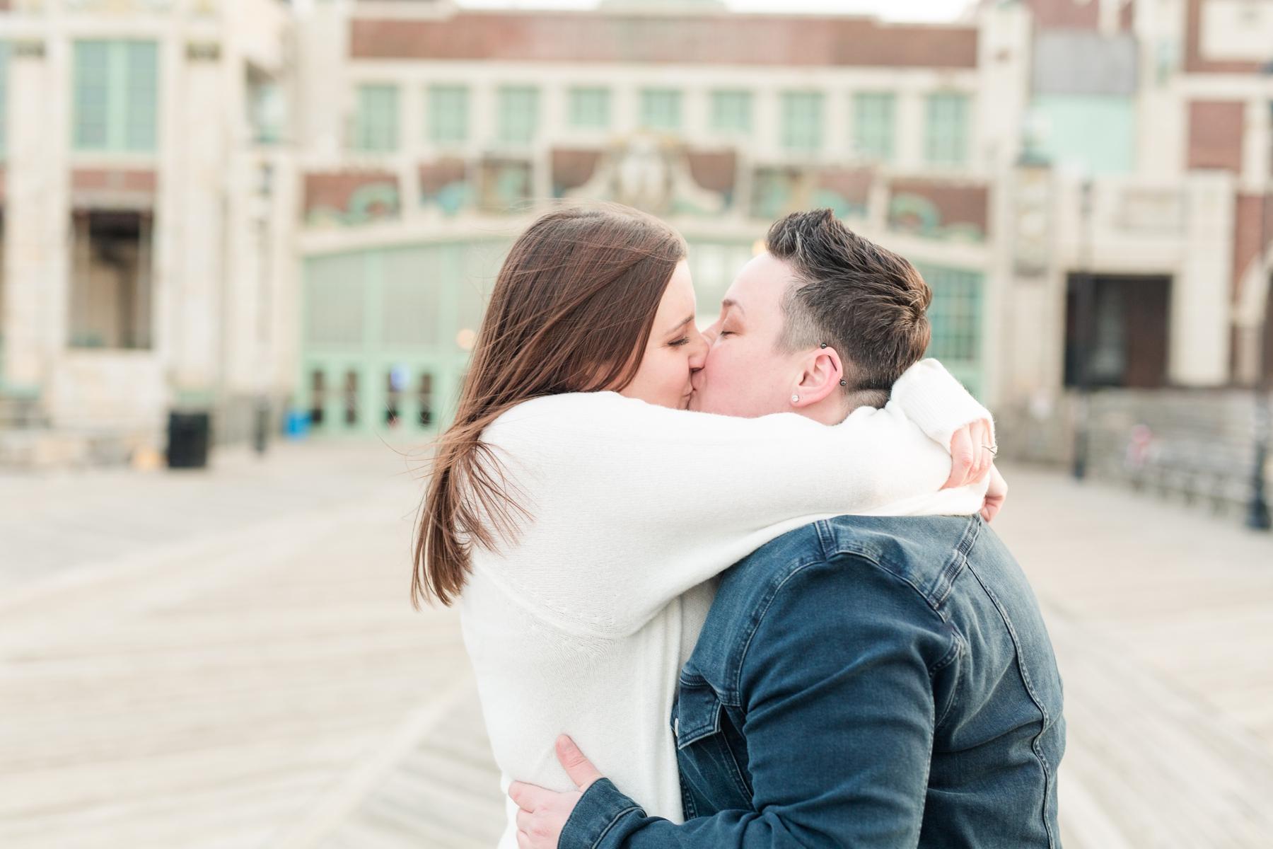 same sex engagement photos