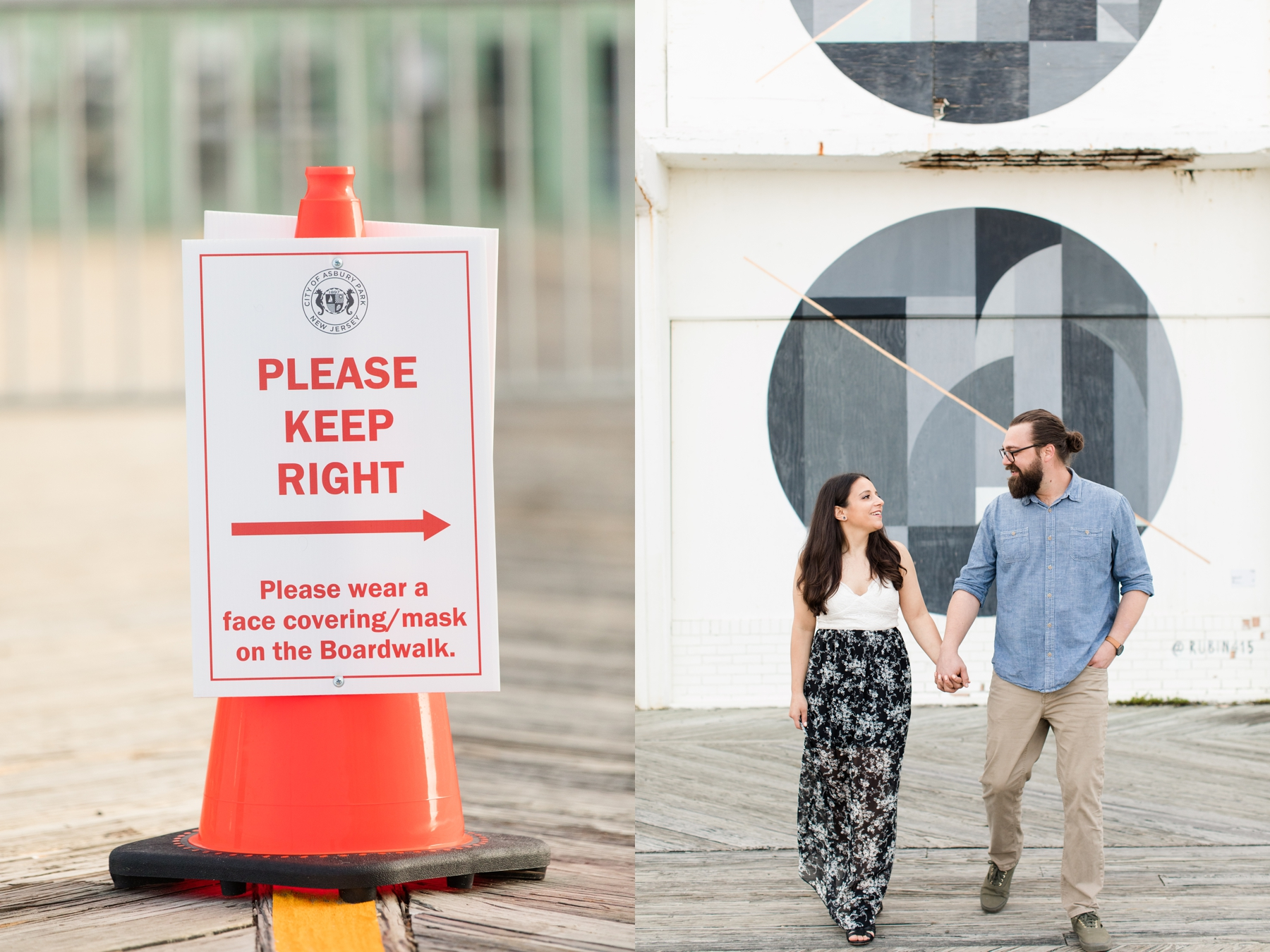 Asbury Park Engagement Session