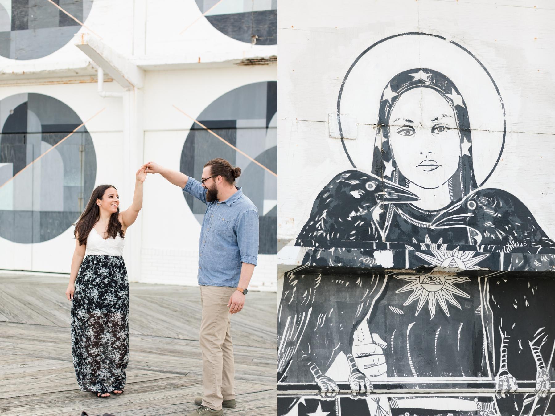 Engagement Photoshoot Asbury Park