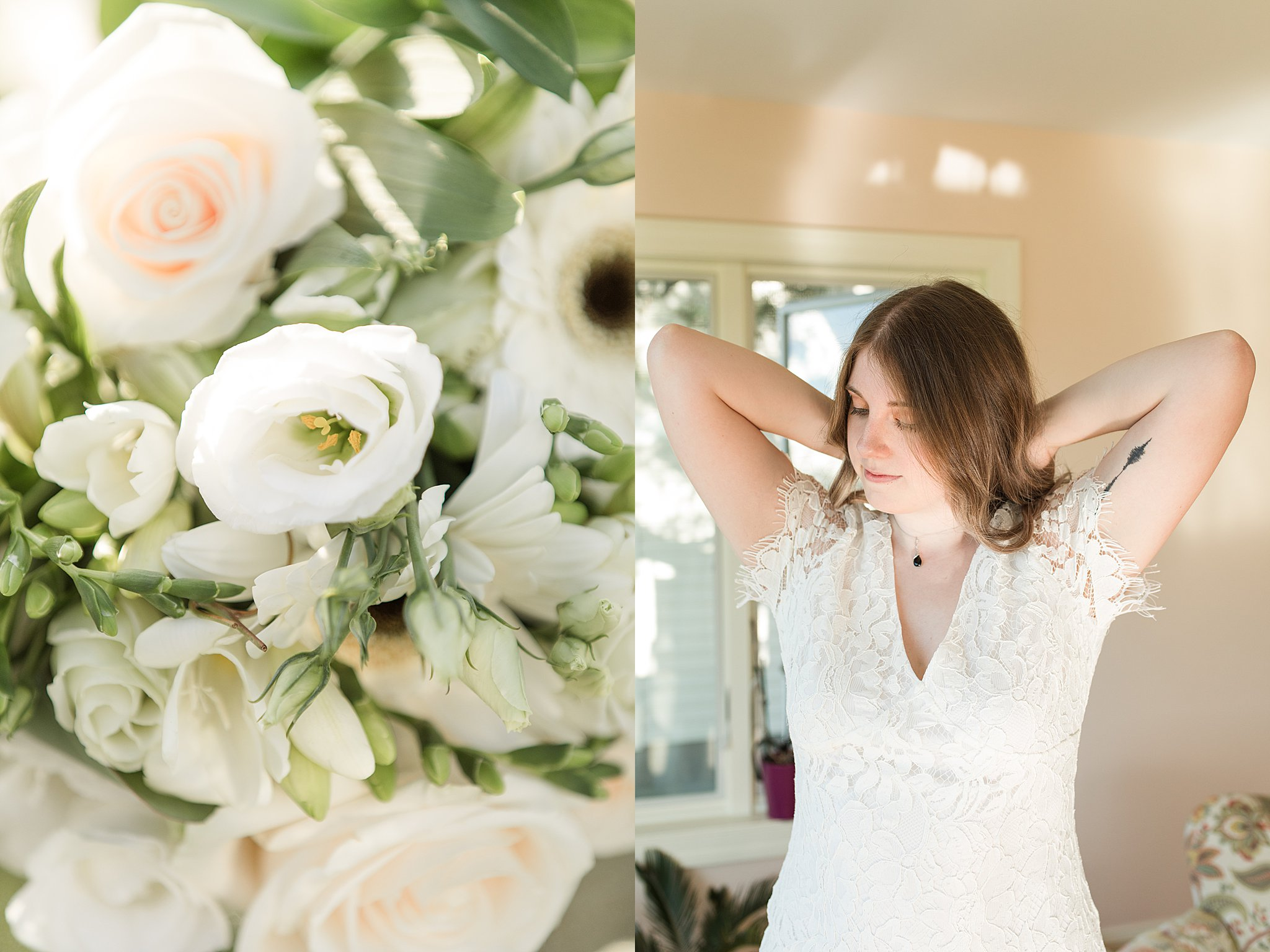 Meagan + Andrew's Lakeside Mini Wedding