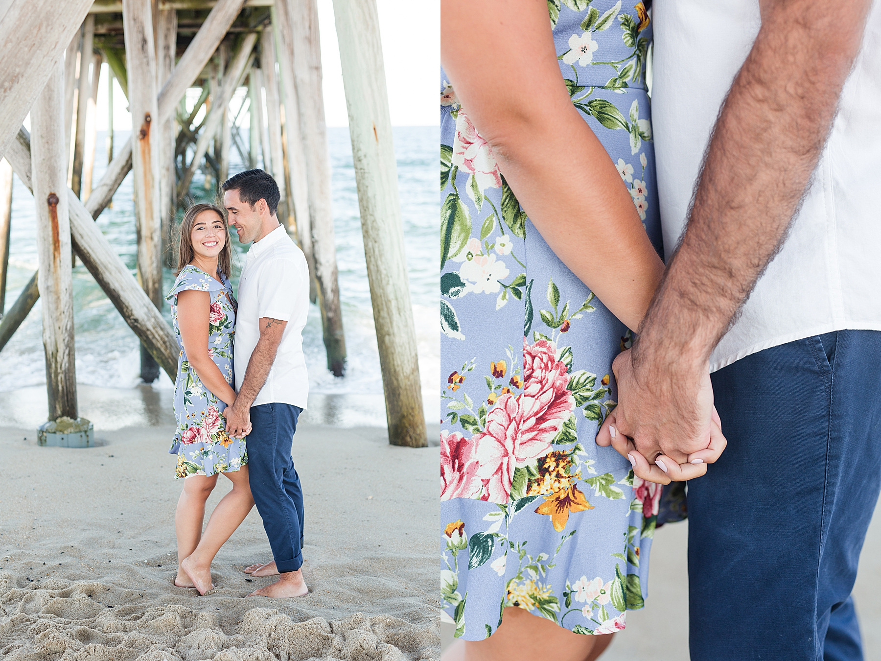 Belmar Beach Engagement Photos