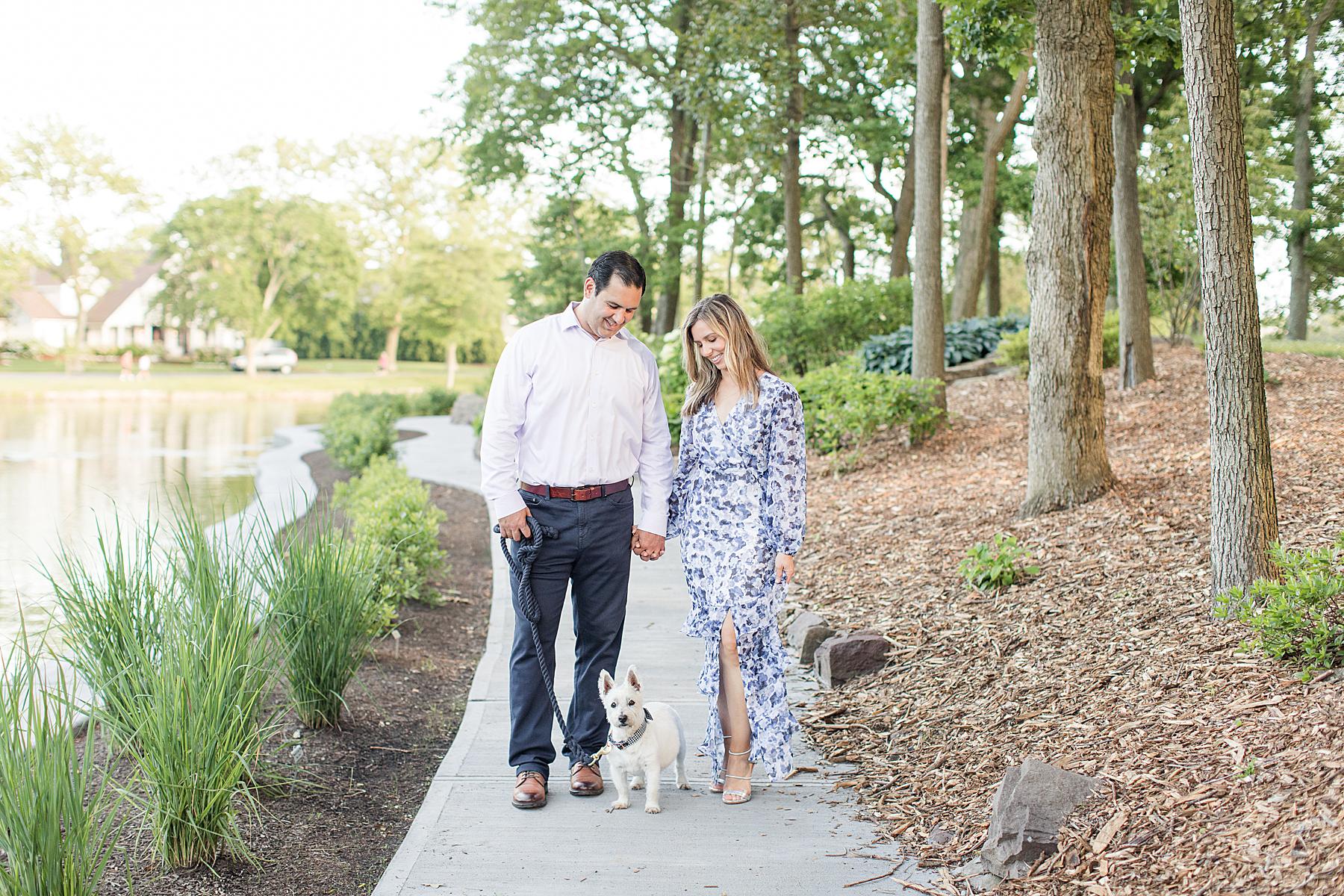Engagement Photos Spring Lake