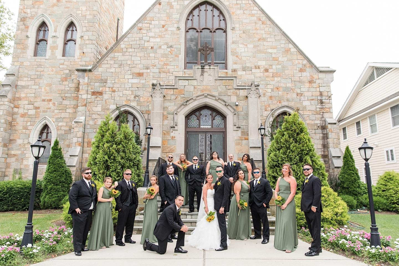Wedding Photography St. Rose Church