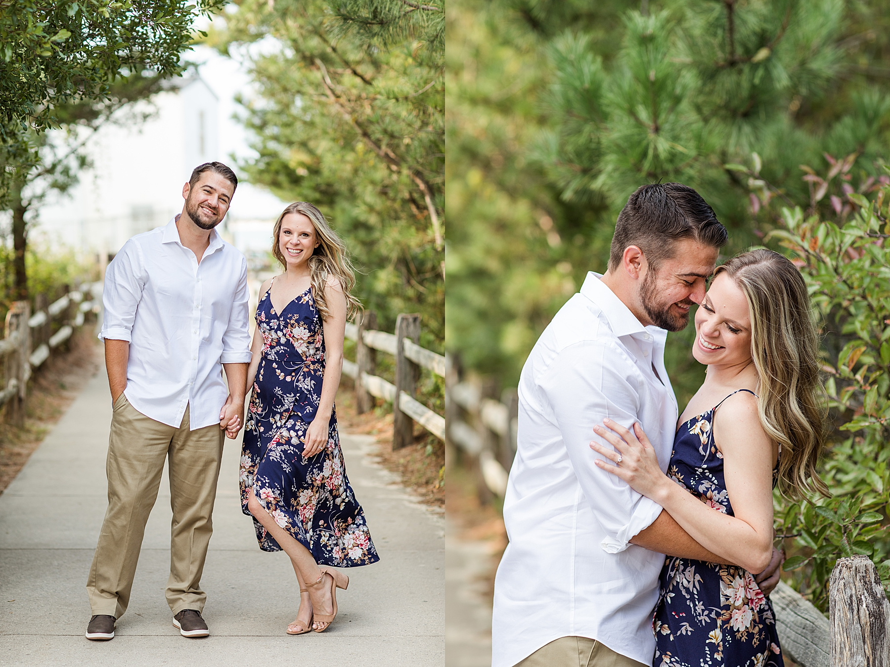 Barnegat Lighthouse Engagement Photos