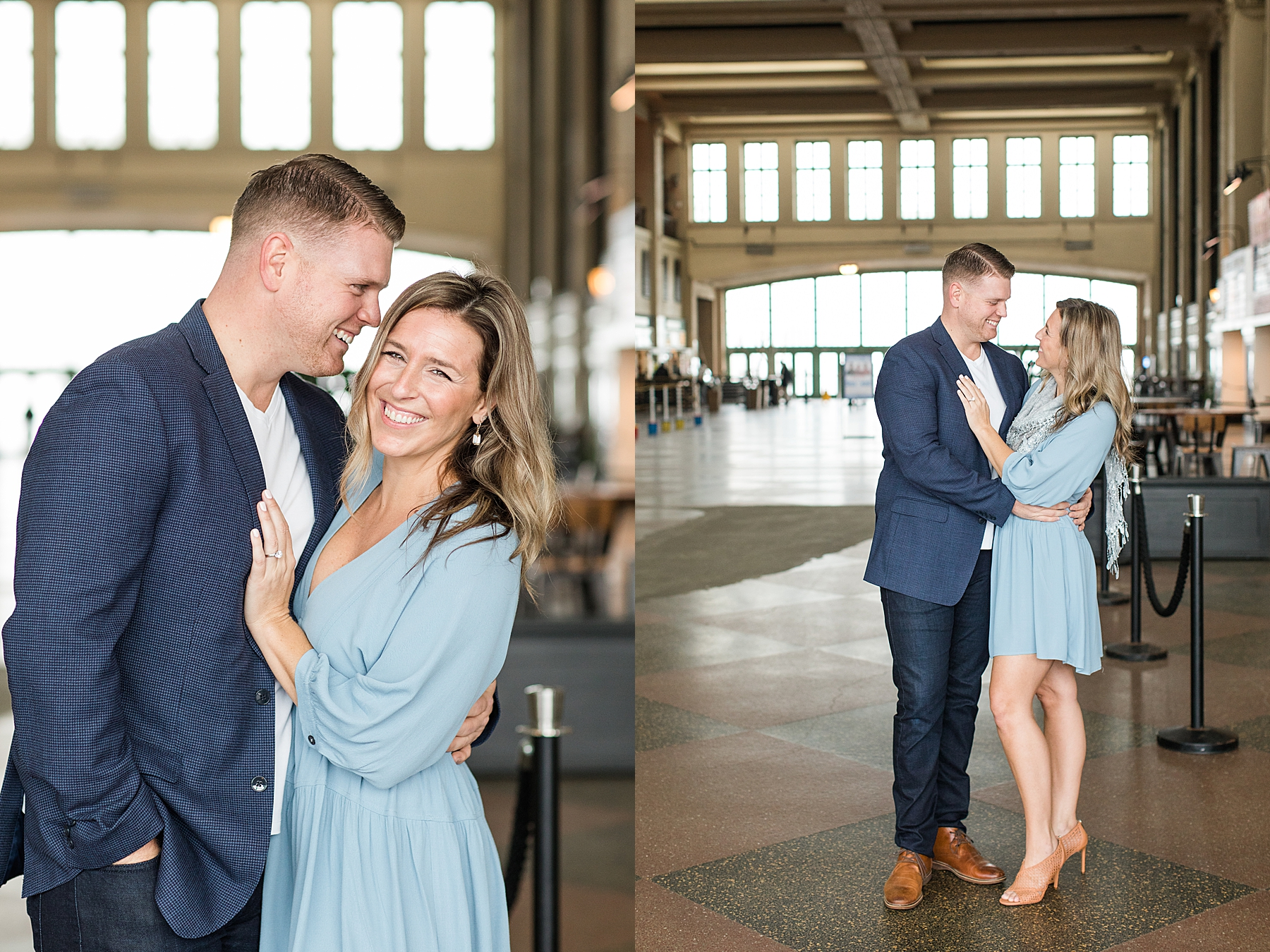 Foggy Asbury Park Engagement Photos