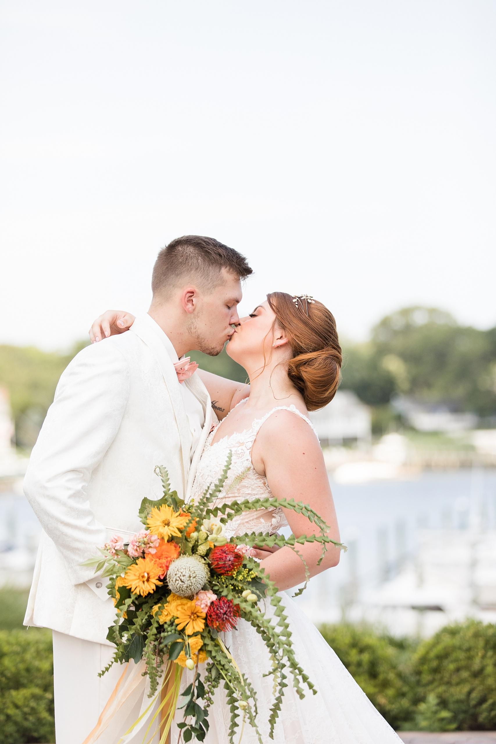 Crystal Point Yacht Club Wedding