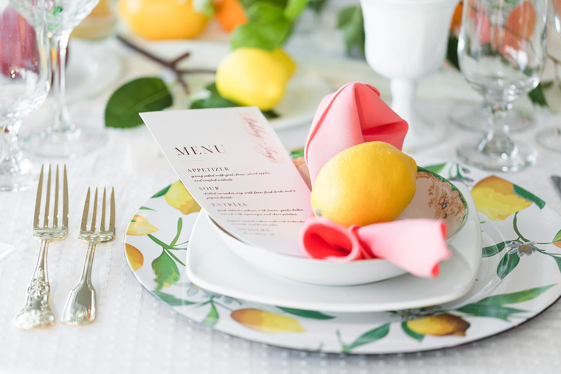 Crystal Point Wedding Food Menu