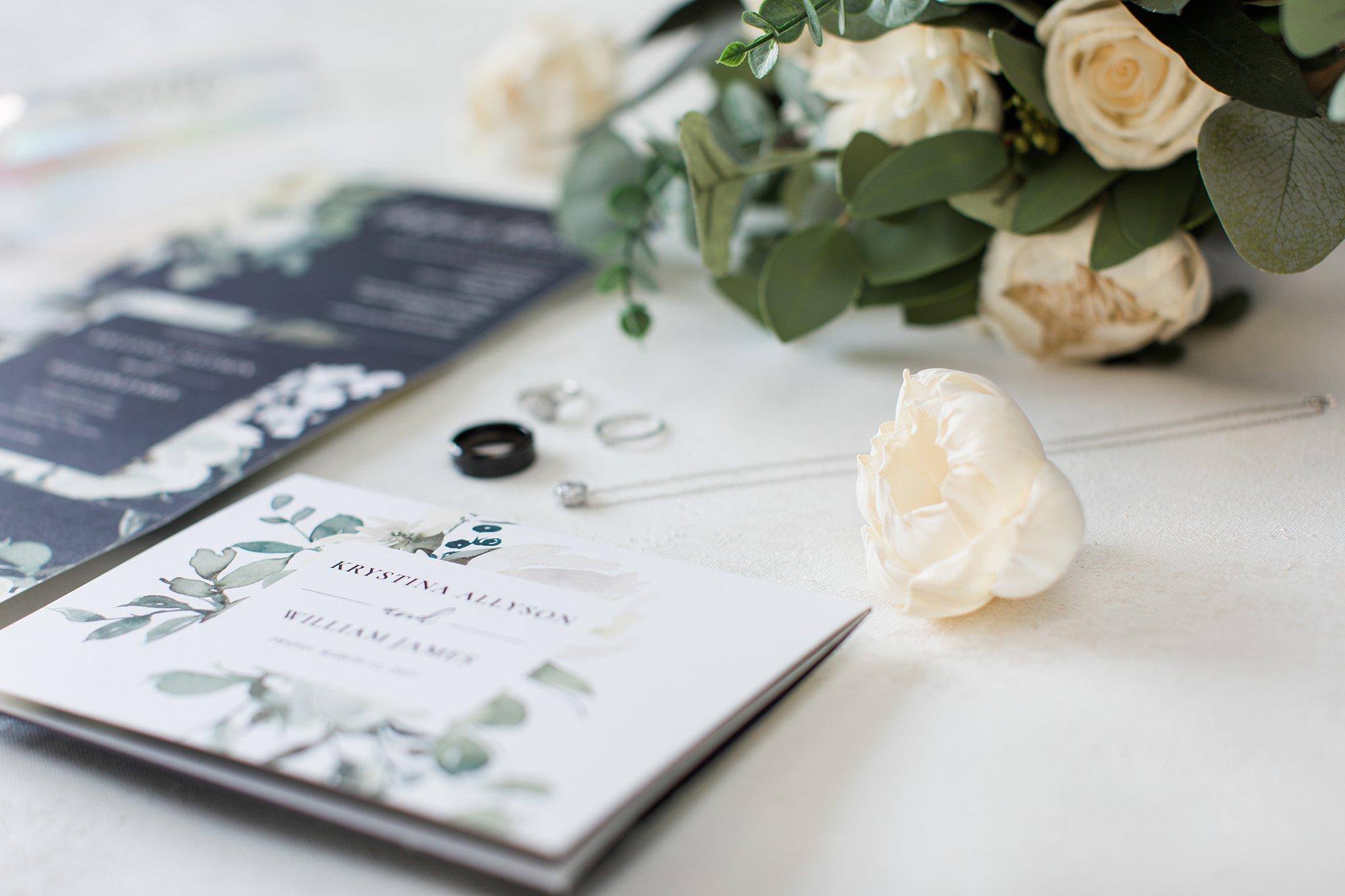 Wedding Card The Hamilton Manor