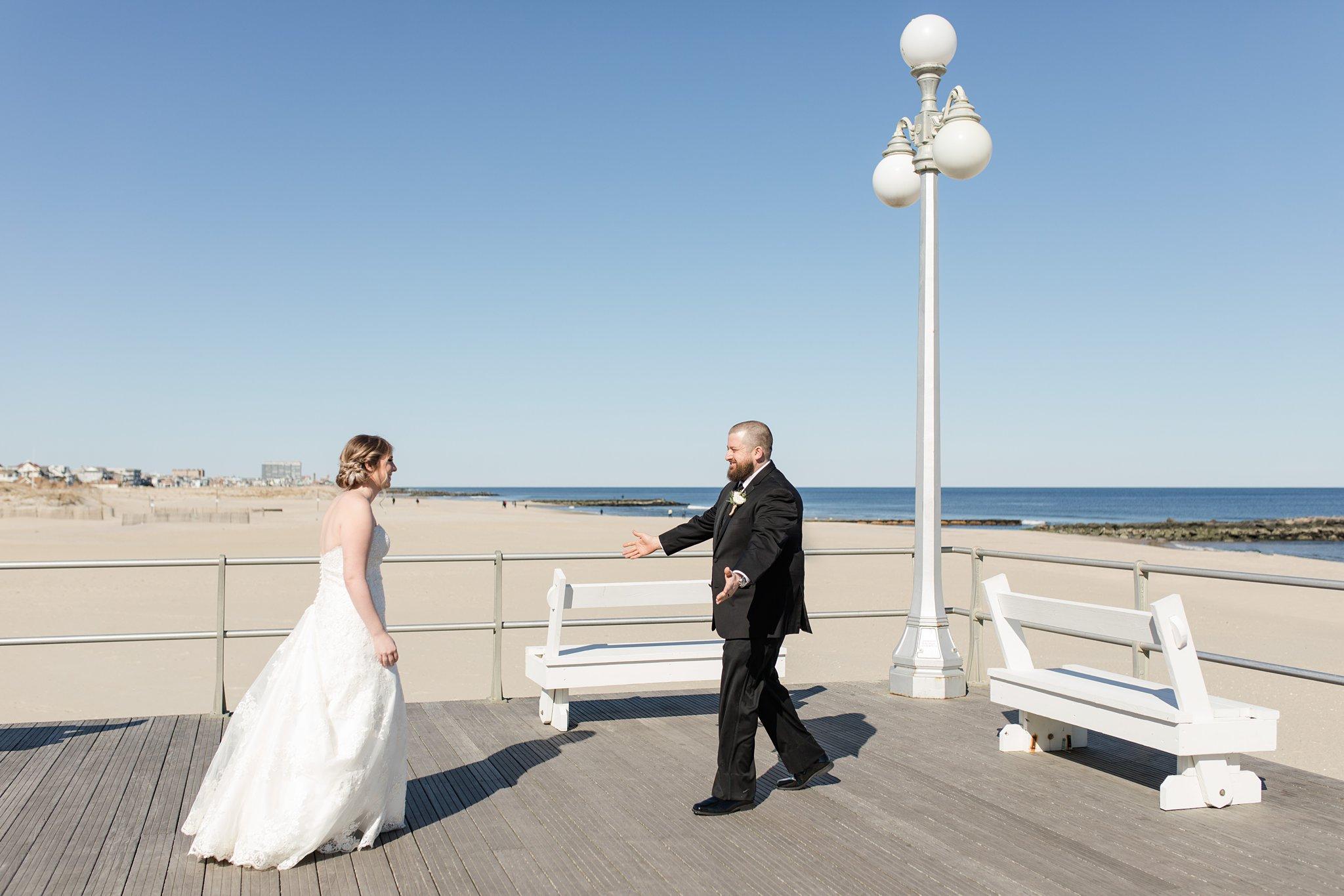 Wedding Pictures Asbury Park Boardwalk
