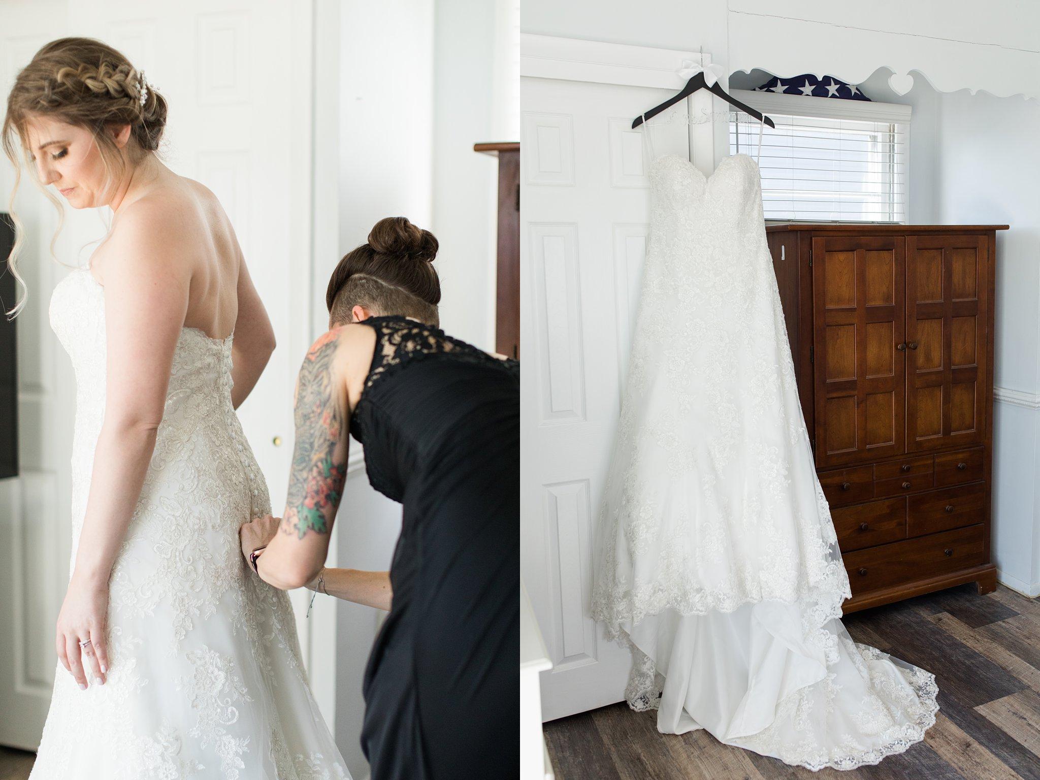 Wedding Gown Asbury Park Boardwalk