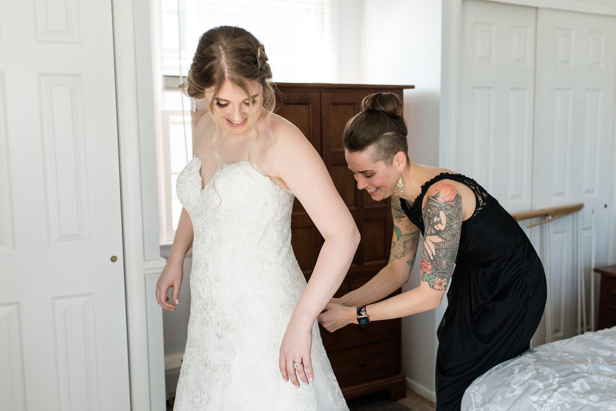 Bride In Asbury Park Boardwalk