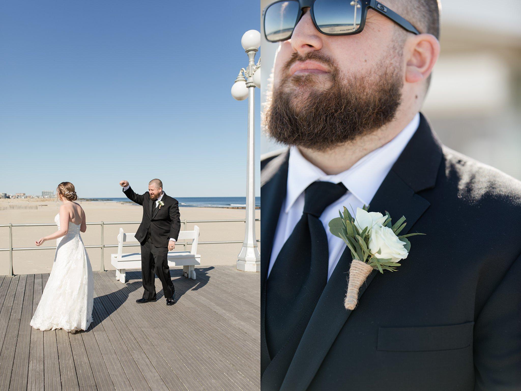 Wedding Photographer Asbury Park Boardwalk