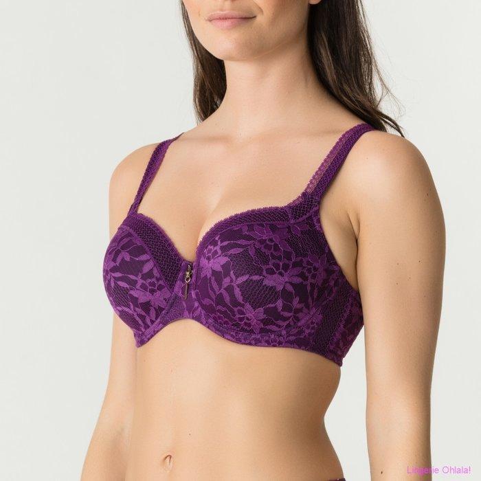 PrimaDonna Twist Tough girl Voorgevormde BH (Purple Sparkle)