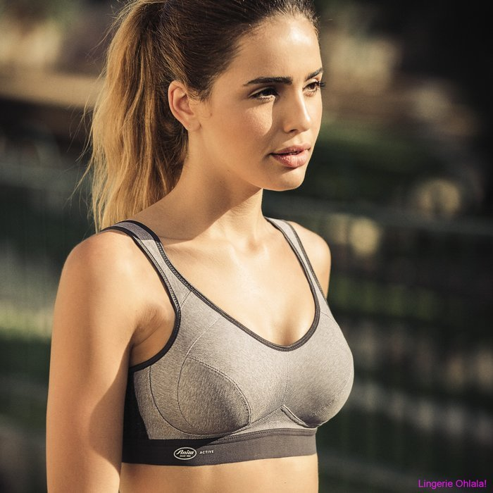 Anita Active Extreme control Sportbeha (Heather Grey)
