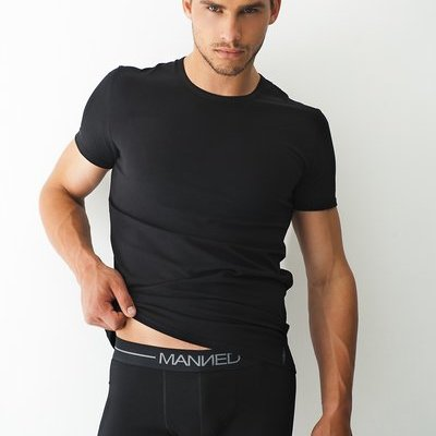 Manned Lingerie T-shirt Ronde Hals T-Shirt