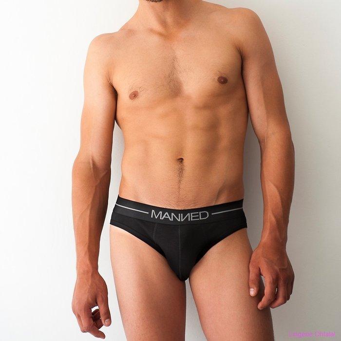 Manned Mini slip Slip (Zwart)