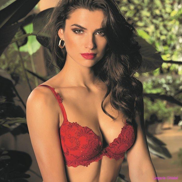 Lise Charmel Dressing floral Voorgevormde BH (Rouge)