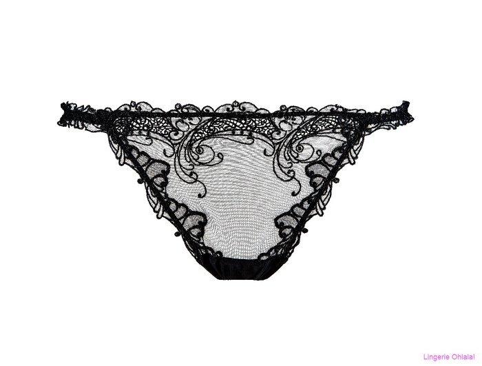 Lise Charmel Soir de venise String (Noir Diamant)