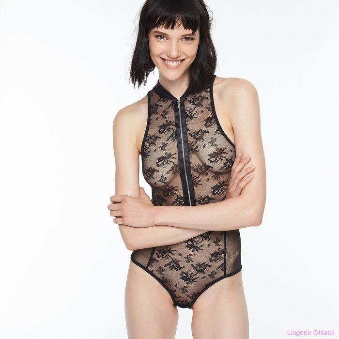 Chantal Thomass Intrigante Body (Black)
