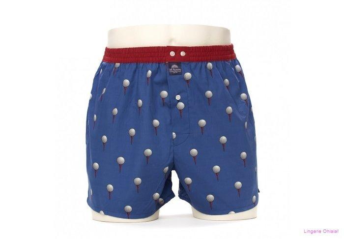 MC Alson Boxermen Boxershort (Blauw Golfbal)