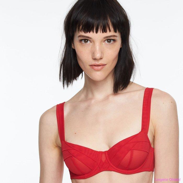 Chantal Thomass Enscens moi Beugel BH (Poppy Red)
