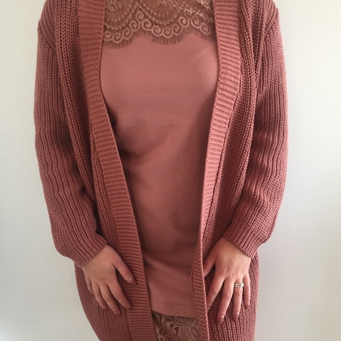 Twin-set Cardigan Trui (Rose) detail 1.1