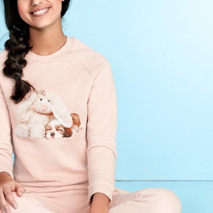 Duranti Bunny & dog Huispak (Roze)