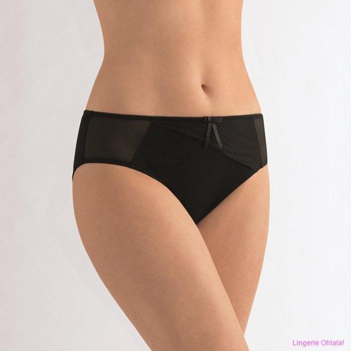Amoena Mila Slip (Black Nude) detail 2.1