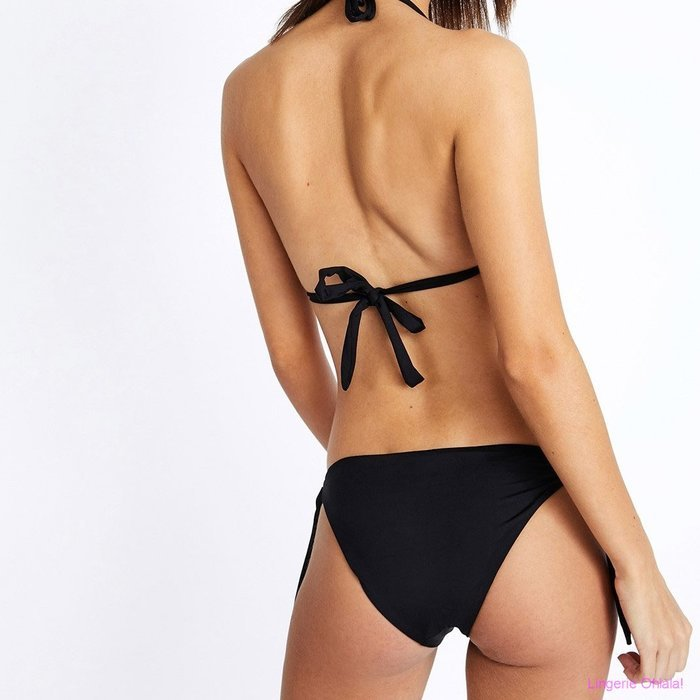 Banana Moon Yero+boa cabana Bikini Set (Black)