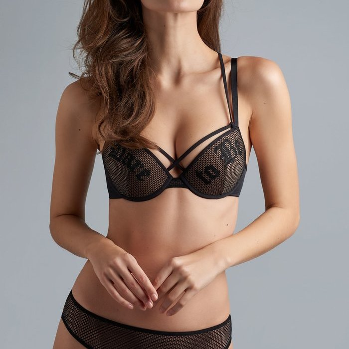 Marlies Dekkers Dare to be Voorgevormde BH (Black and Sand)