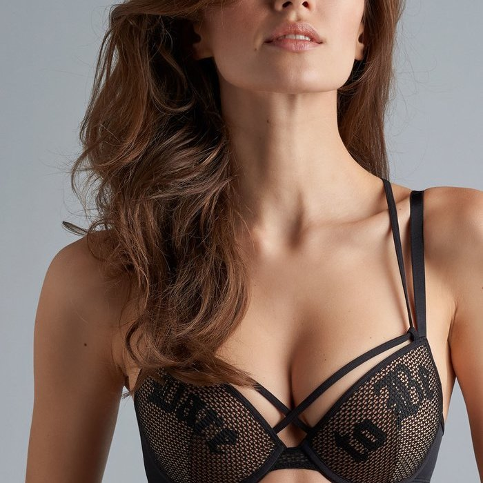 Marlies Dekkers Dare to be Beha Voorgevormd (Black and Sand) detail 1.1