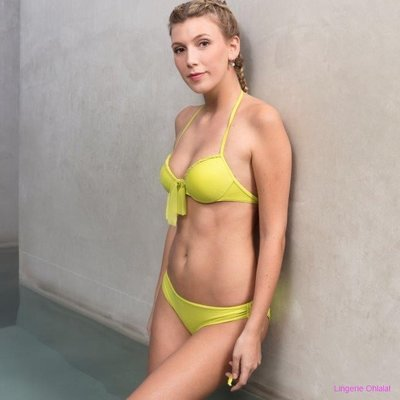 Twin-set Lingerie Bikini Twin-set Push-up Lemon Bikini