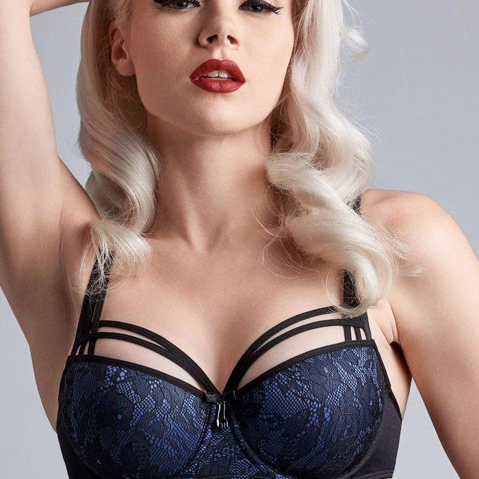 Marlies Dekkers Dame de paris Voorgevormde BH (Bijou Blue)