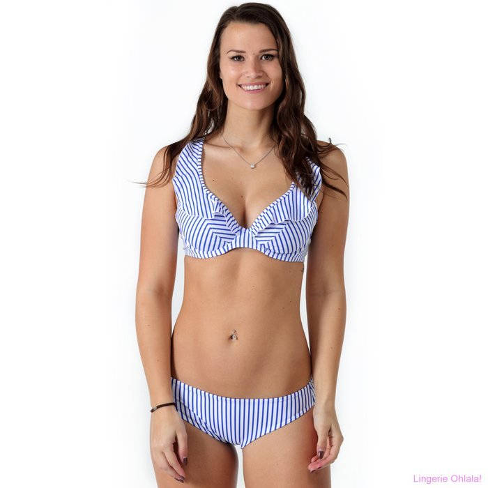 Freya Totally stripe Bikini (Blue Stripe)