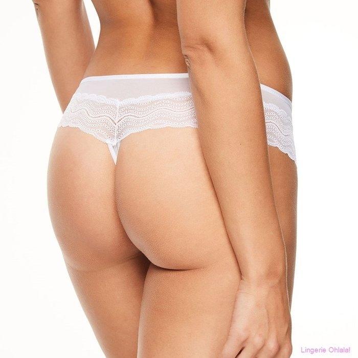 Chantelle Blanche String (Wit)