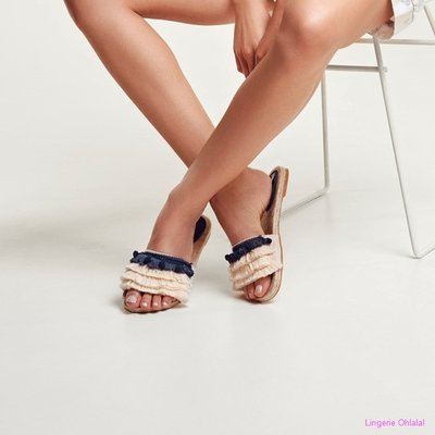 Lords And Lilies Lingerie 191-5-lsj-e Pantoffels