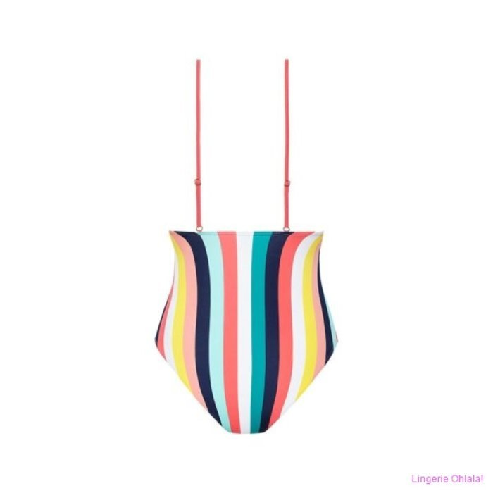 Beachlife Candy stripe Badpak (Candy Stripe)