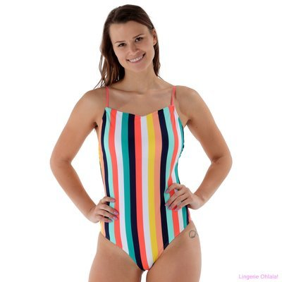 Beachlife Alles over lingerie weten Candy Stripe Badpak