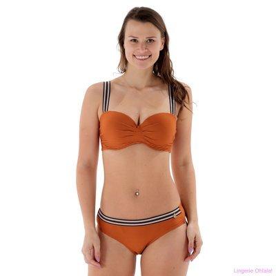 Beachlife Lingerie Leather Brown Bikini