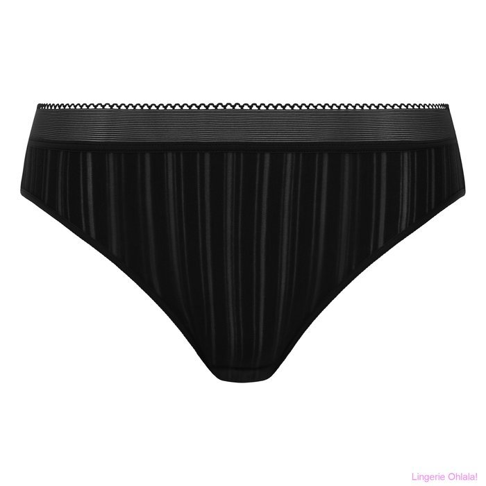Chantelle Between the lines Slip (Black)