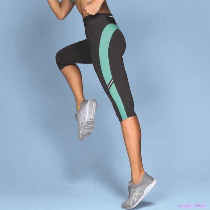 Anita Active Sport tights fitness Legging (Pool Blue/Grey)