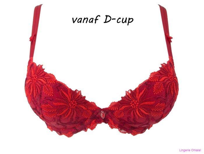 Lise Charmel Fleur aphrodite Voorgevormde BH (Rouge Aphrodite)