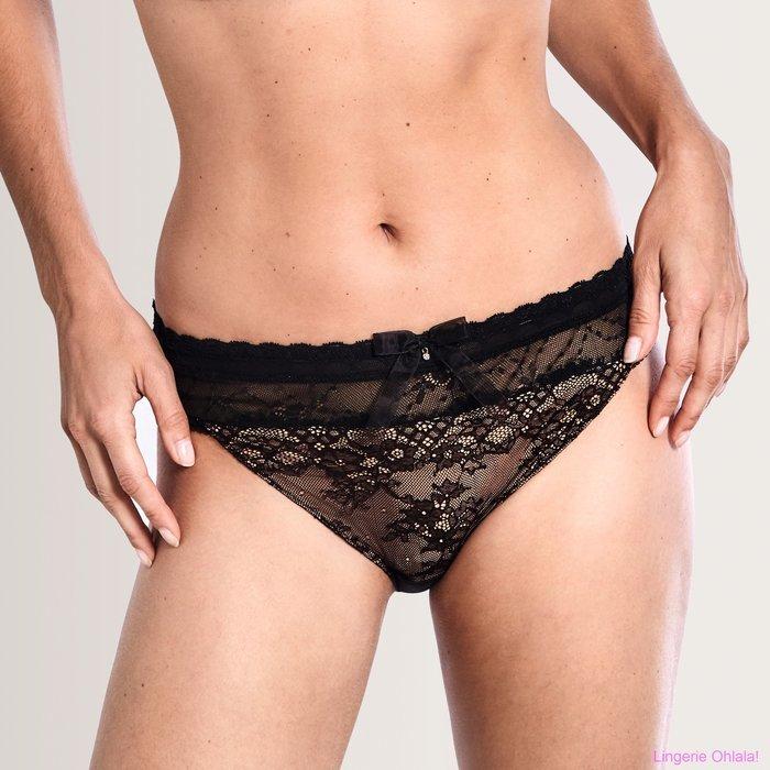 Amoena Aurora Slip (Black Nude)
