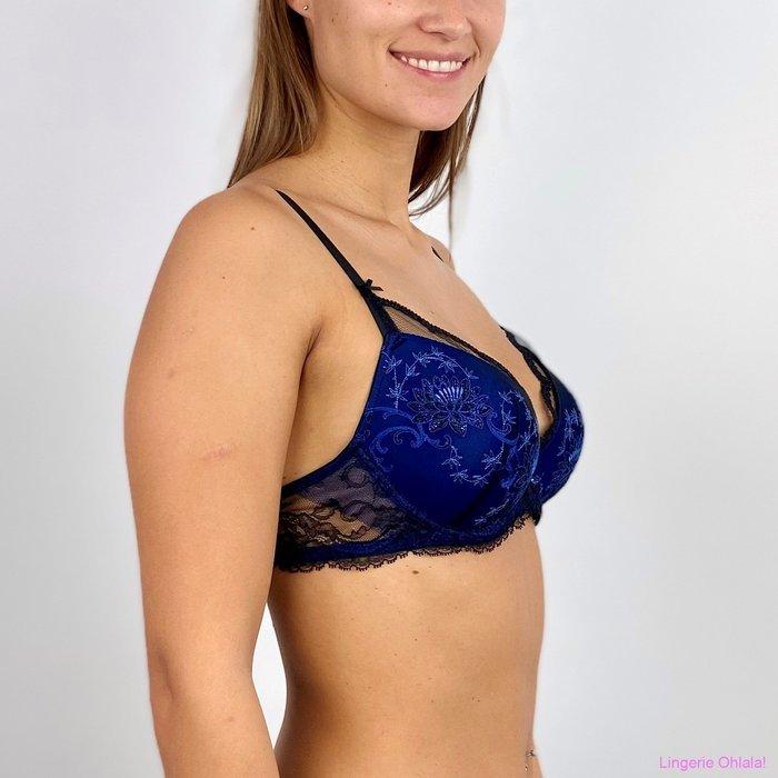 Lise Charmel Fete precieuse Voorgevormde BH (Noir Bleu)