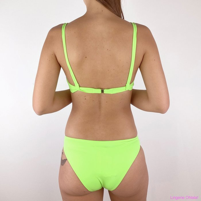 Twinset 201lbmh33 Bikini (Verde Fluo)