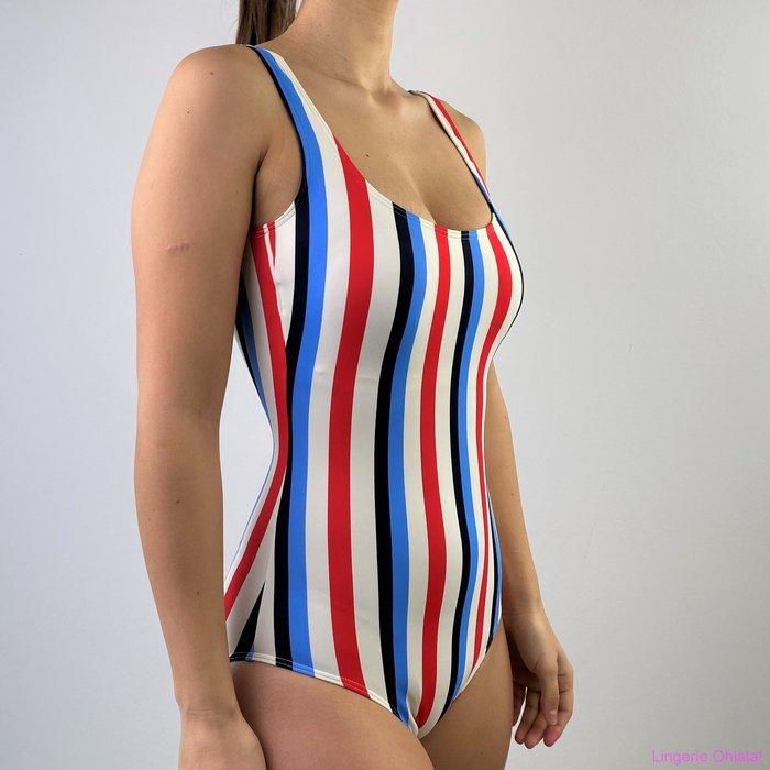 Marc 0'Polo Swimsuit Badpak (Stripes)