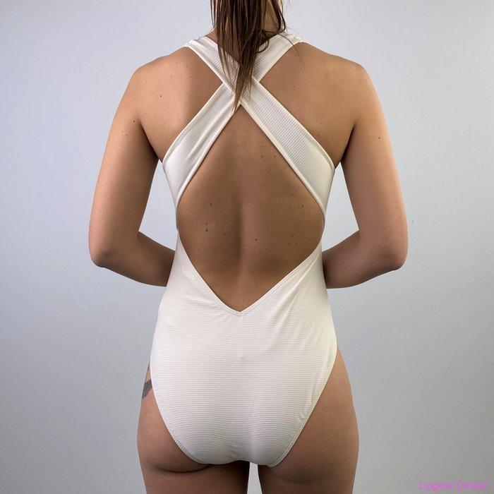 Beachlife Whisper white Badpak (White)