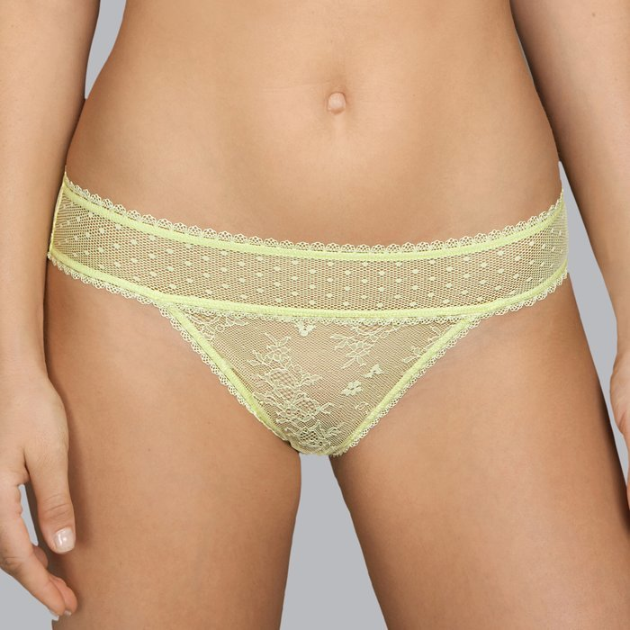 Andres Sarda Benagil Slip (Light Yellow)
