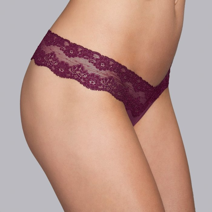 Andres Sarda Verbier String (Deep Cherry) detail 4.1