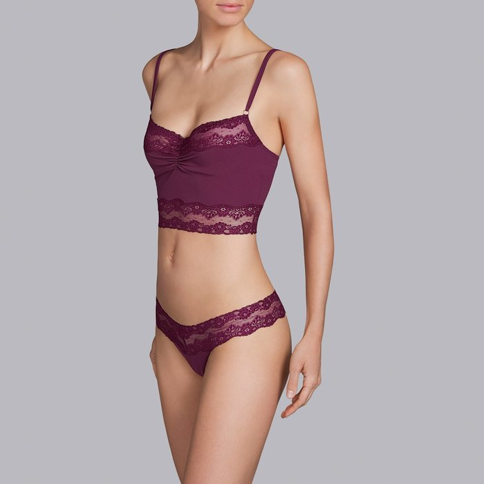 Andres Sarda Verbier Top (Deep Cherry) detail 3.1